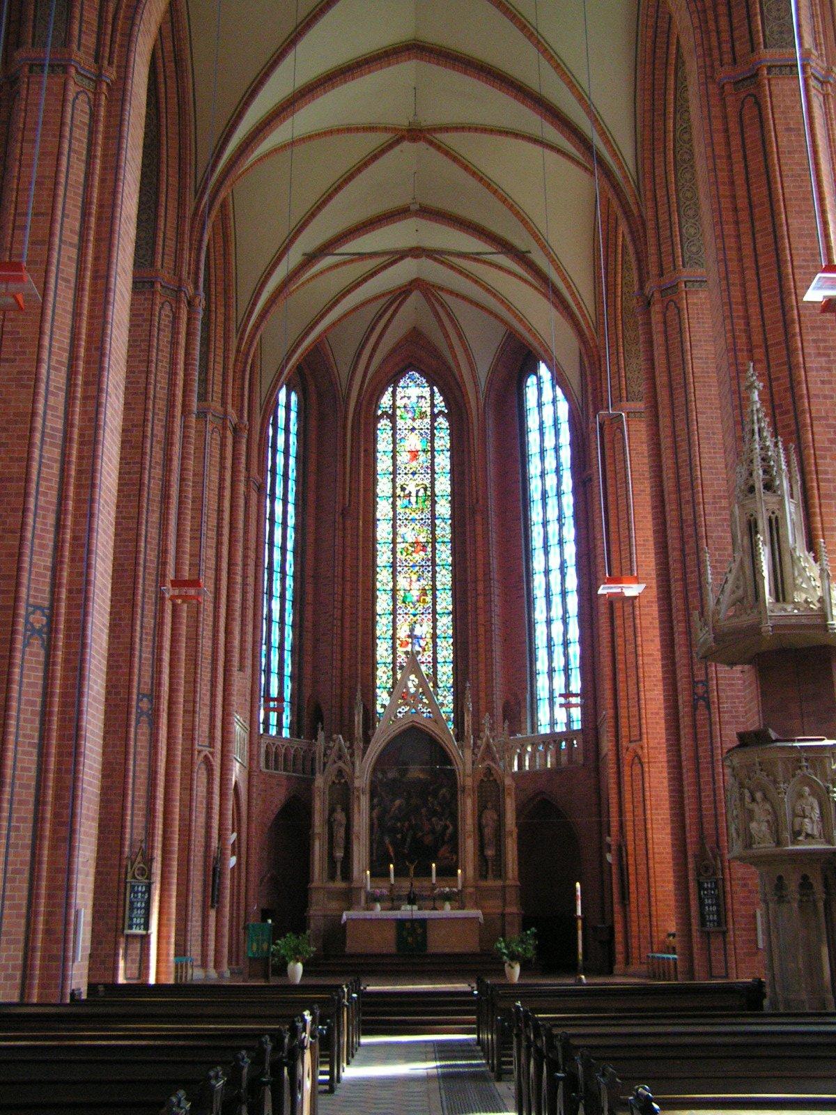Bild St. Marien Kirche Pasewalk