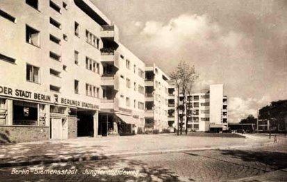 Bild Gropius Wohnblock Ringsiedlung Siemensstadt Berlin