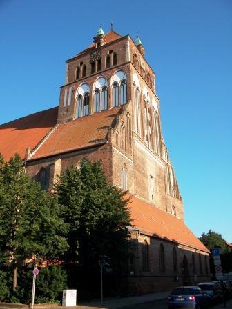 Bild St. Marien Kirche Greifswald
