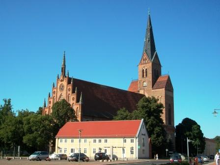 Bild St. Marien Kirche Friedland