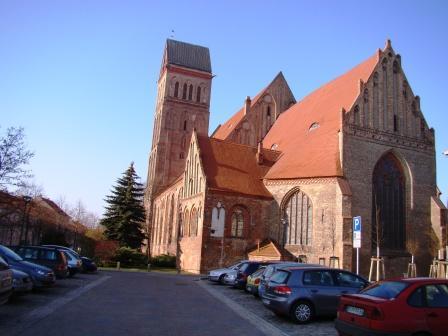 Bild St. Marien Kirche Anklam