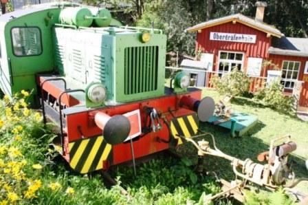 Bild Eisenbahnmuseum und Gaststätte Zum Prellbock Lunzenau