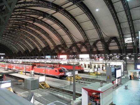 Bild Hauptbahnhof Dresden