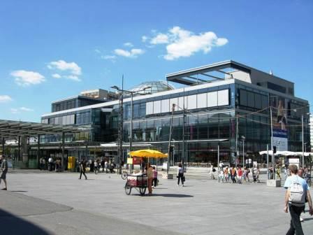 Bild Glaskugelhaus am Wiener Platz Dresden