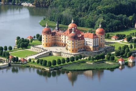 Bild Barockschloss Moritzburg