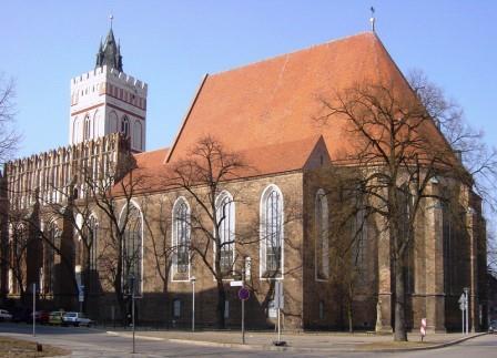 Bild St. Marien-Kirche Frankfurt/Oder