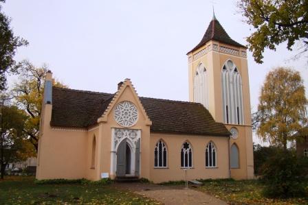 Bild Kirche Paretz