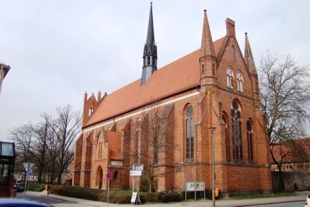 Bild Franziskaner Kloster und Kirche St. Johannis Neubrandenburg