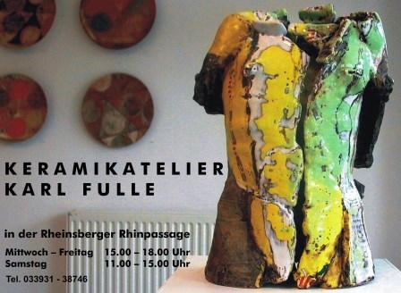 Bild Keramikatelier Karl Fulle