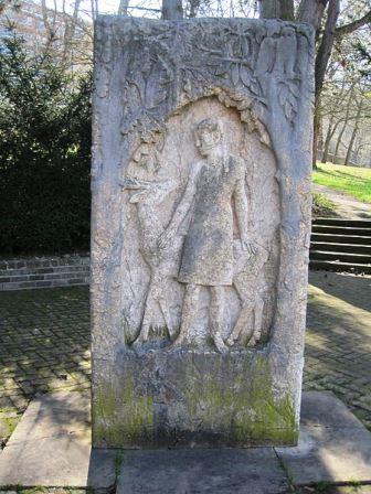 Bild Brüder Grimm Stein Göttingen