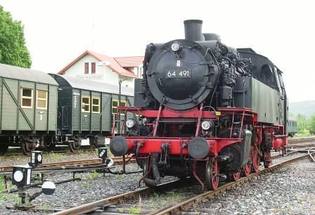 Bild Dampfbahn Fränkische Schweiz Ebermannstadt