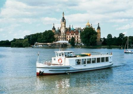 Bild Schiffstour auf dem Schweriner See