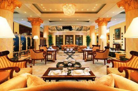 Bild Tea Lounge im Ritz Carlton