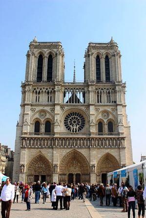 Bild Kathedrale Notre Dame Paris
