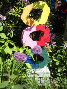 Bild Künstlergarten Klaus Stegmann Bielefeld