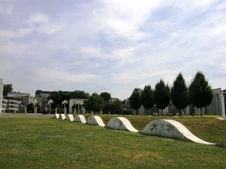 Bild Garten der Erinnerung Duisburg