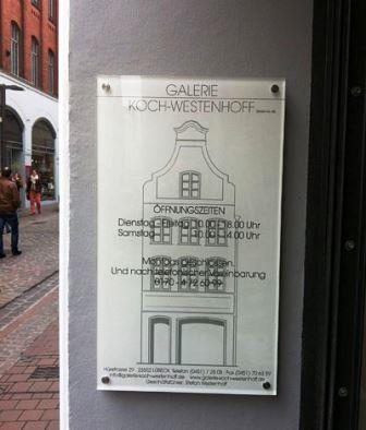 Bild Galerie Koch Westenhoff Lübeck