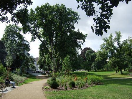 Bild Lenné Park Frankfurt/Oder