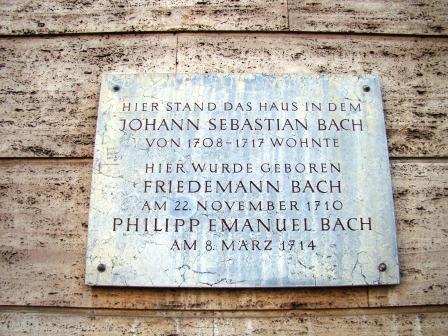 Bild Bach Haus Weimar