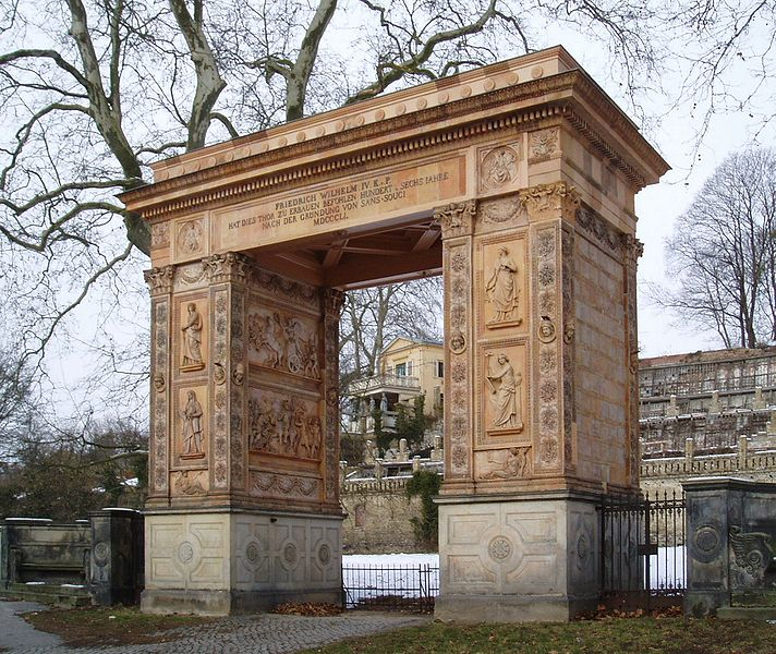 Bild Triumphtor Potsdam
