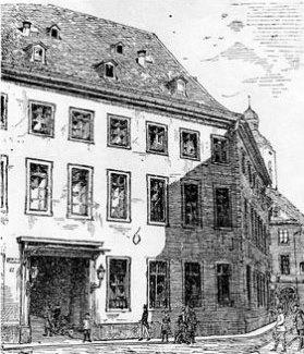 Johannes gutenberg in mainz for Johannes hof