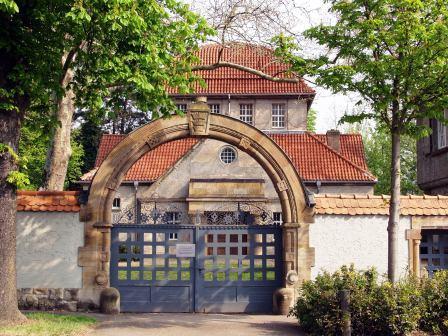 Bild Jüdische Trauerhalle Worms Hochheim
