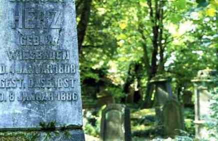 Bild Alter Jüdischer Friedhof Schöne Aussicht Wiesbaden