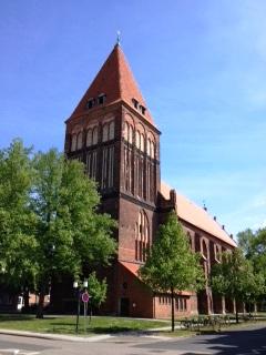 Bild St. Jacobi Kirche Greifswald