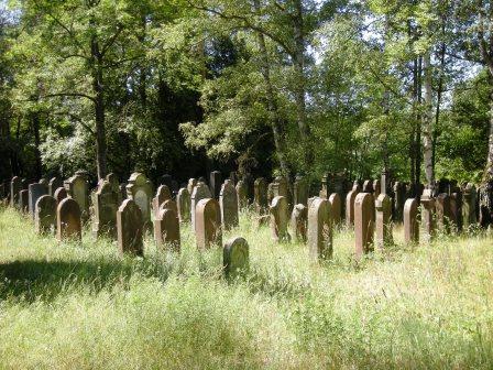 Bild Jüdischer Friedhof Schweinheim Aschaffenburg