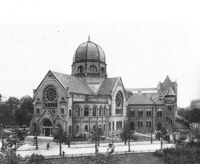 Bild Bornplatzsynagoge Hamburg