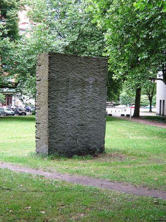 Bild Mahnmal am Platz der jüdischen Deportierten Hamburg
