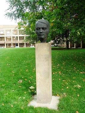 Bild Robert Schumann Denkmal Dresden