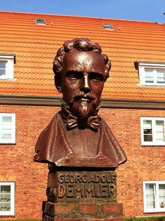 Bild Demmler Denkmal Schwerin