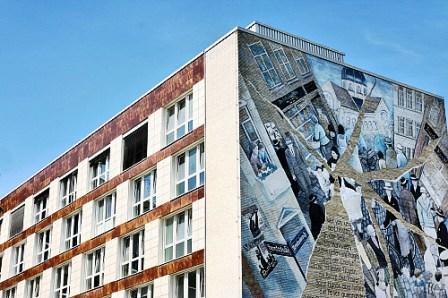 Bild WANDBILD JÜDISCHE KULTUR AM GRINDEL Hamburg
