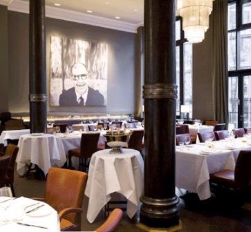 Bild Restaurant Die Bank Hamburg