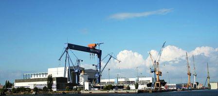 Bild Warnow Werft Rostock