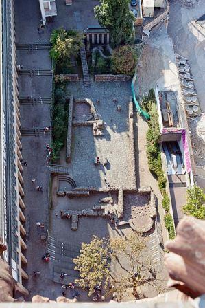 Bild Archäologischer Garten Frankfurt am Main