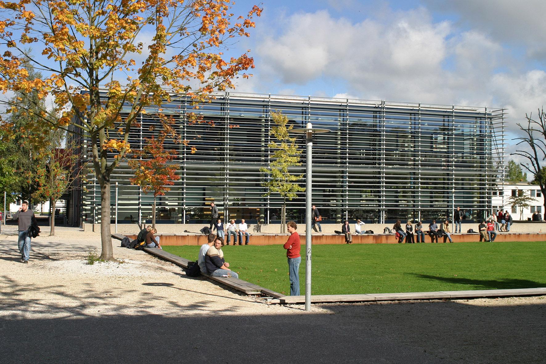 Bild Bibliothek der Hochschule Wismar