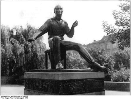 Bild Heinrich Heine Denkmal Berlin