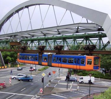 Bild Schwebebahn Wuppertal