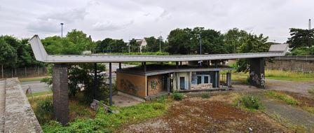 Bild Krupp Hüttenwerke Tor 1 Duisburg