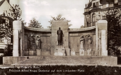 Bild Alfred Krupp Denkmal Essen