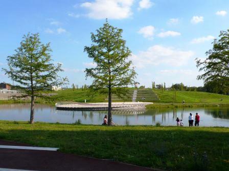 Bild Krupp Park der fünf Hügel Essen