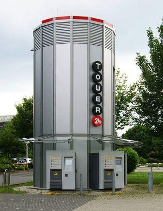 Bild Tower 24 Paket Abholstelle Dortmund