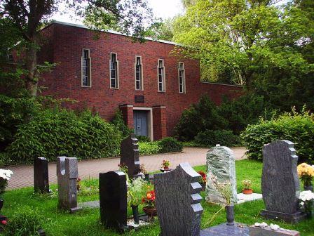 Bild Jüdischer Friedhof Wasserstraße Bochum