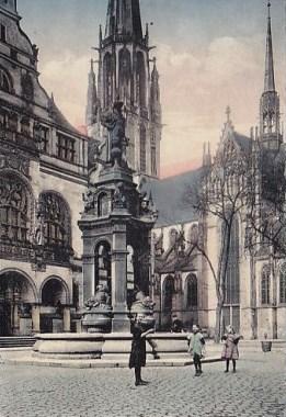 Bild Mercator Brunnen Duisburg