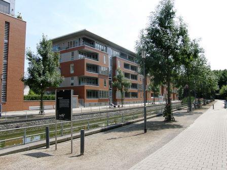 Bild Wohnbebauung Duisburger Innenhafen