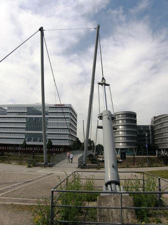 Bild Steg Innenhafen Duisburg