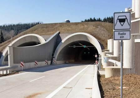 Bild Tunnel Burgholz Wuppertal