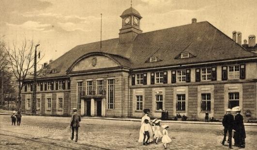 Bild Bahnhof Wuppertal Steinbeck